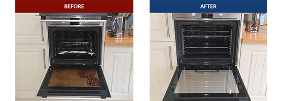 Domestic oven cleaning services in Kent